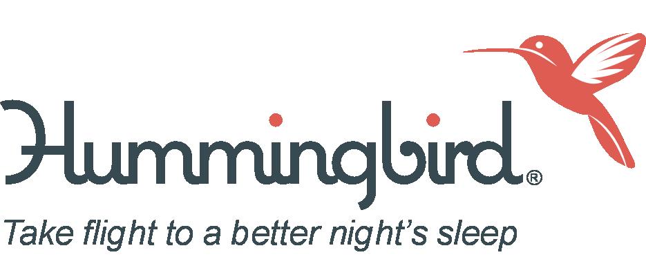 Hummingbird logo with tagline 103116